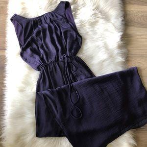 Gap Maxi Dress Deep Purple Size Small